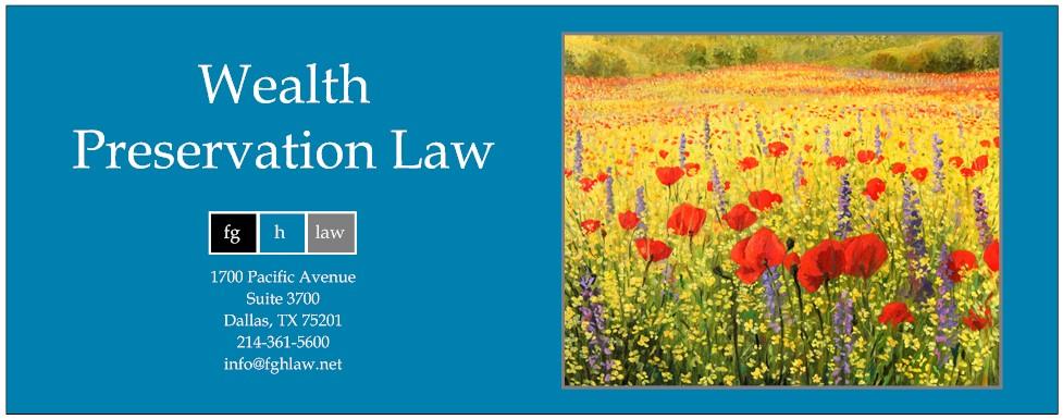 Charitable Organizations | FGH Law | Dallas, TX